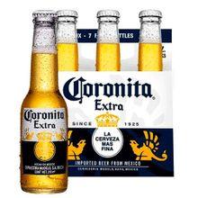 Cerveza CORONA 6 unds x210 ml c/u