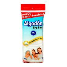 Algodon MK zig-zag x50 g precio especial