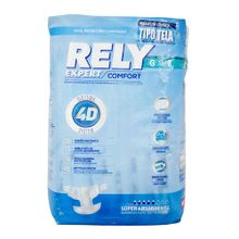 Pañal RELY adulto grande confort x8 unds