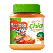 Crema de maní MANITOBA chía x300 g
