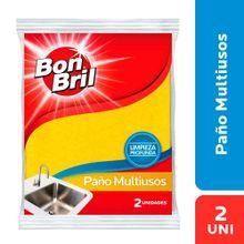 Paño BON BRIL multiusos x2 unds