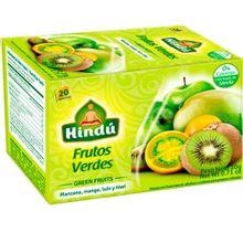 Infusión HINDÚ frutos verdes con stevia x20 sobres