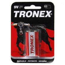 Pila TRONEX 9V cuadrada roja