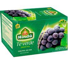 Té verde HINDÚ con piel de uva x20 sobres