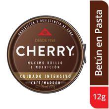Betún CHERRY marrón x12 g