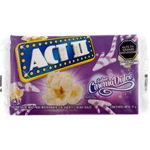 Crispeta ACT II cinema dulce x91 g