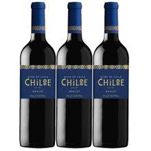 Oferta vino CHILOE merlot x750 ml 2x3