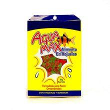 Alimento en hojuelas para peces AQUAMAX x20 g