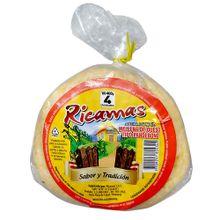 Arepa RICAMAS rellenita de queso x400 g