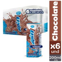 Leche ALPINA saborizada alpin chocolate 6 unds x200 ml c/u