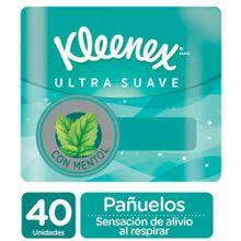Pañuelo KLEENEX ultra suave antigripal x40 unds