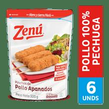 Pinchos ZENÚ de pollo x300 g