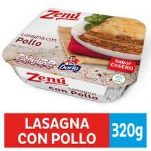 Lasagña ZENU pollo x320 g