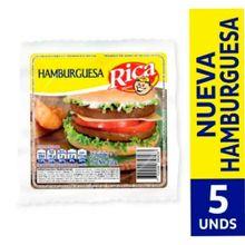 Hamburguesa cerdo RICA x450 g