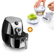 Combo: Freidora de aire 4.3 L + Kit X 10: Cortador Picador halador Chef Master