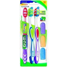 Cepillo dental GUM supreme max x3 unds