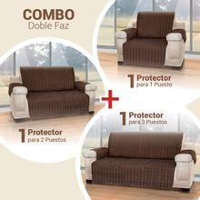 Combo 3 Cubre sofás: 1 Puesto, 2 puestos y 3 puestos Energy Plus