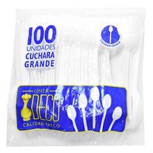 Cuchara desechable LASTRA x100 unds